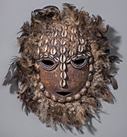 Bwami mask, Lega. Photo: Lars Bay